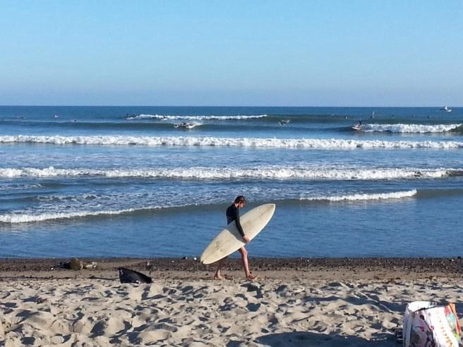 Doheny Beach Dana Point California Surfing by www.southocbeaches.com