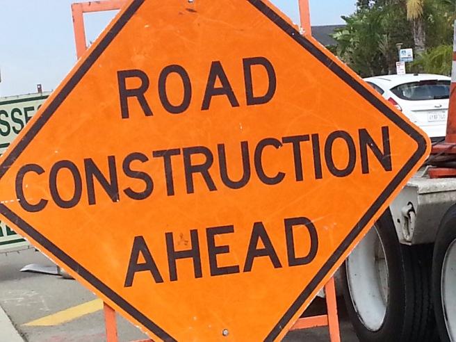 Road Construction by southocbeaches.com