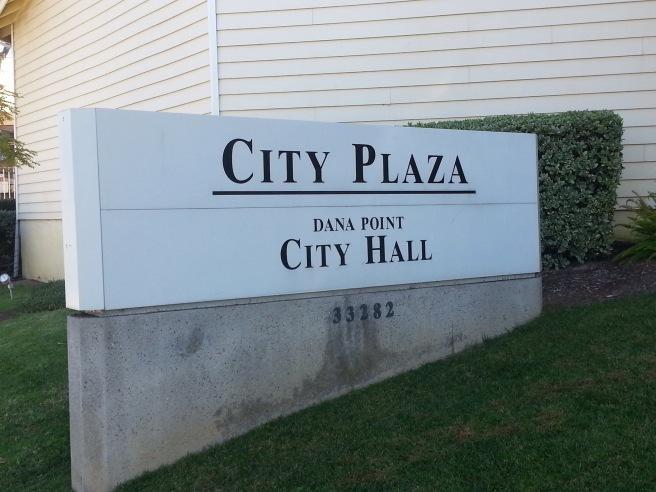 Dana Point City Plaza by SouthOCBeaches.com