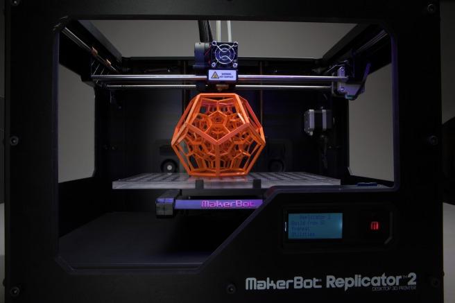 3 D Printing from makerbot.creativetools.se at flickr.com