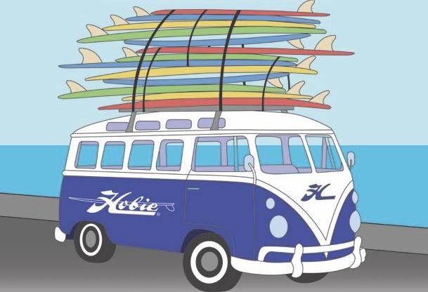 Image Courtesy of hobiesurfshop.com