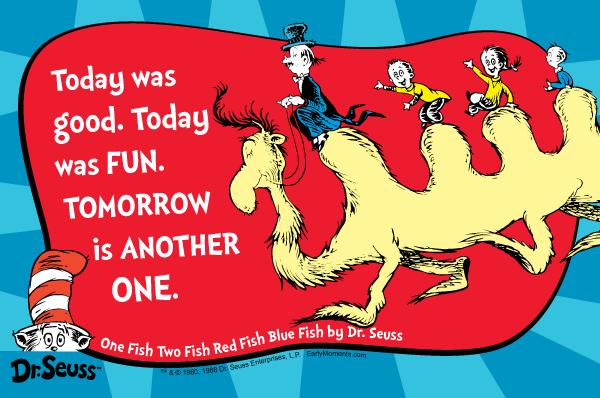 Image Courtesy of Dr. Seuss Enterprises.L.P.