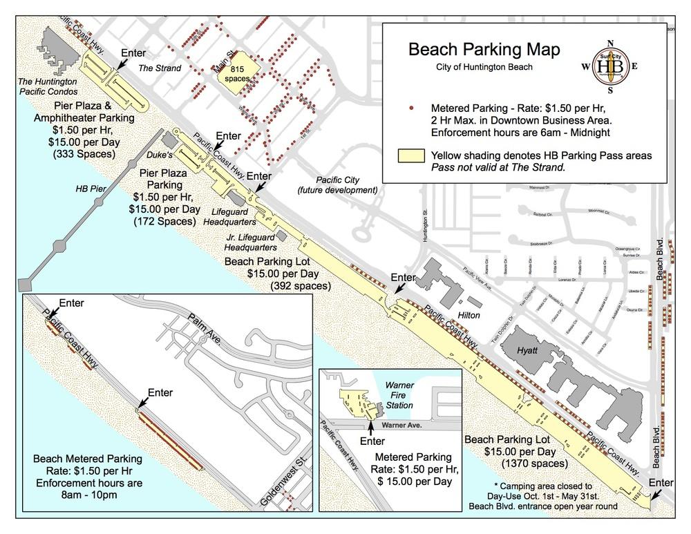 Beach Parking Huntington Beach Ca