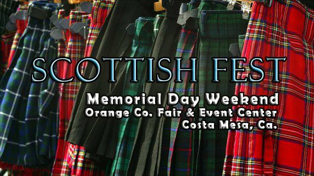 Orange County Scottish Fest May 2017