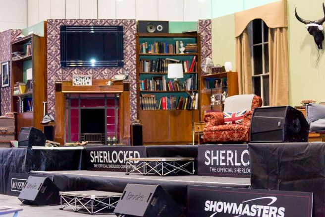 Sherlock Offical Set Courtesy of SherlockedUSA.com
