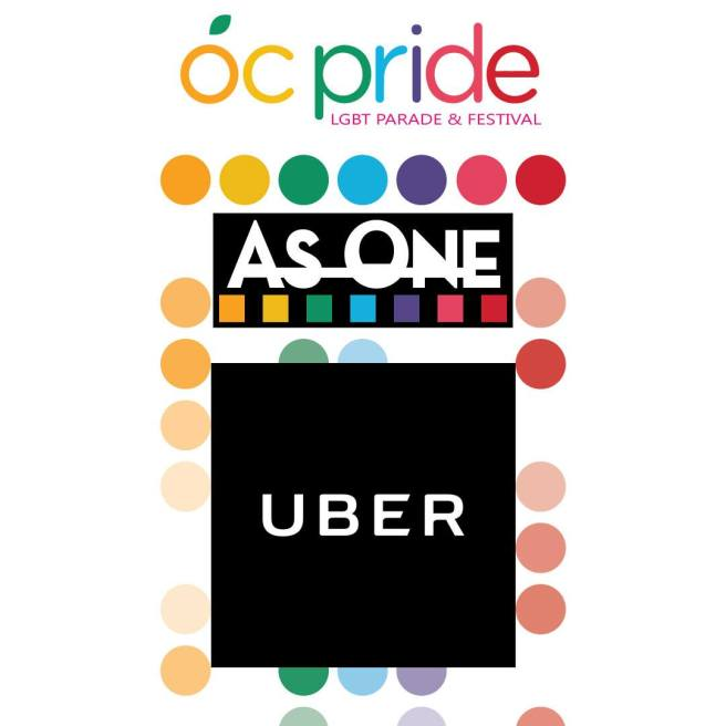 OC Pride Parade and Festival Uber June 24 2017