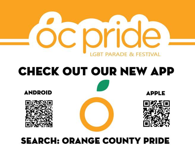 OC Pride 2017 New Apps