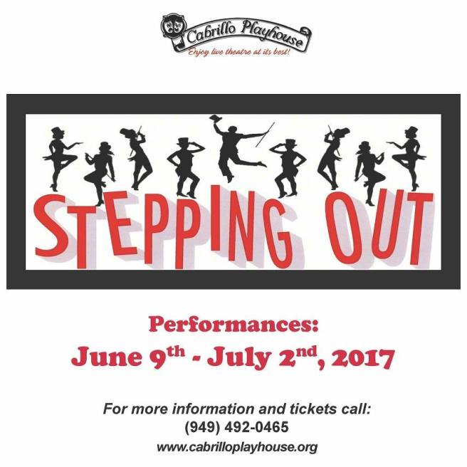 Cabrillo Playhouse Stepping Out June 2017
