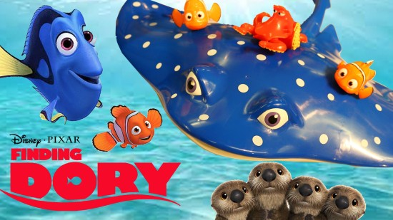 Finding Dory Courtesy of Dinsey.com