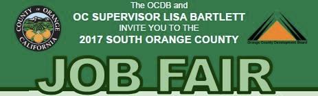 Orange County California Job Fair June 1 2017