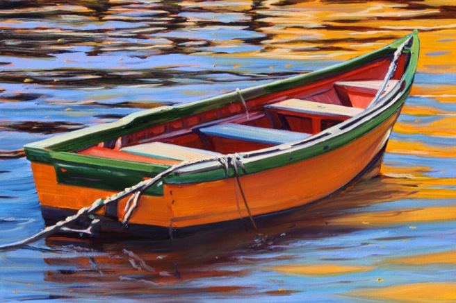 Laguna Beach Festival of the Arts Wine & Painting Boats Courtesy of foapom.com