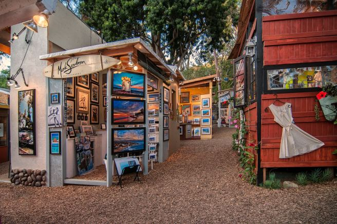 Laguna Beach Sawdust Art Festival Summer 2017