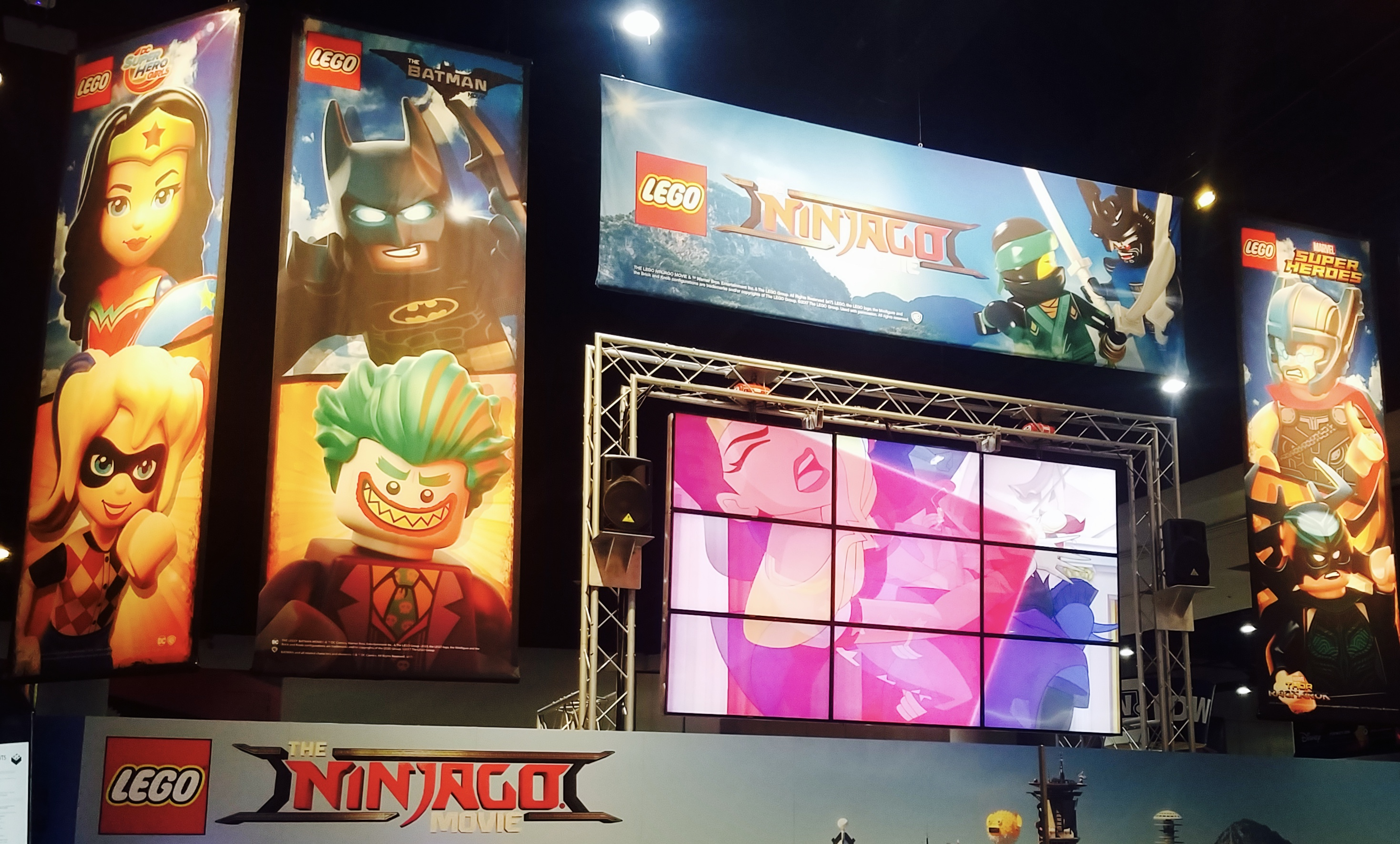 Lego Booth Comic Con 2017 By SouthOCBeaches