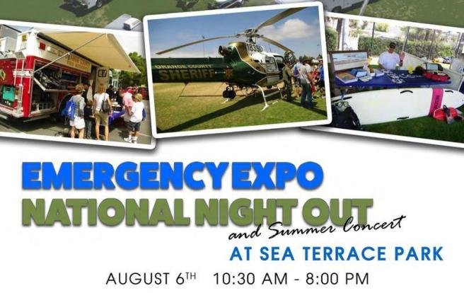 Dana Point Emergency Expo August 6 2017