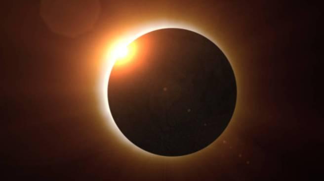 Solar Eclipse Illustration Courtesy of NASA
