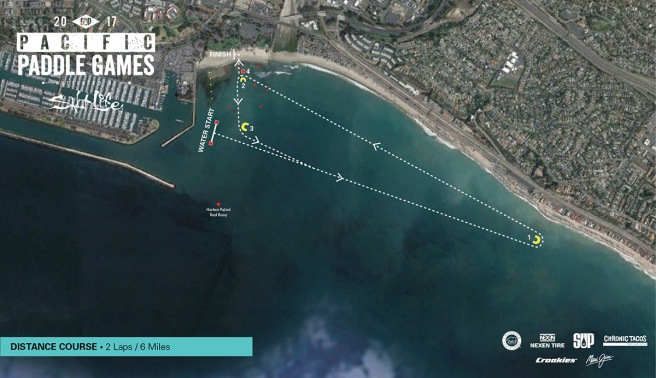 Dana Point Pacific Paddle Games Distance Course October 1 2017
