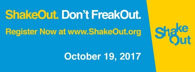 California Shake Out 2017