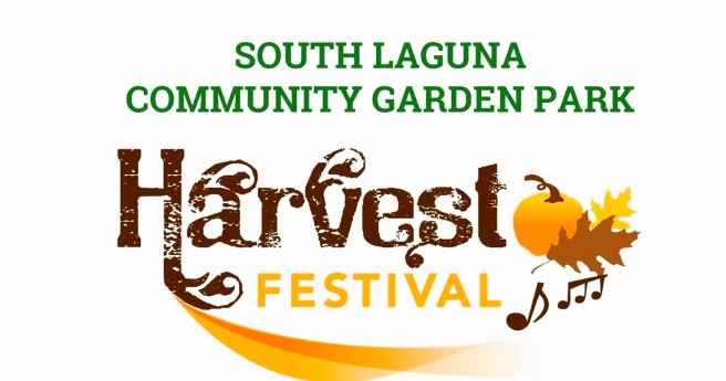 South Laguna Community Garden Park Harvest Festival October 22 2017