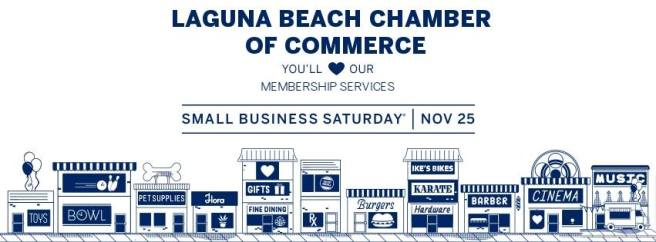 Laguna Beach Small Business Saturday November 25 2017 Image Courtesy of Laguna Beach Chamber of Commerce