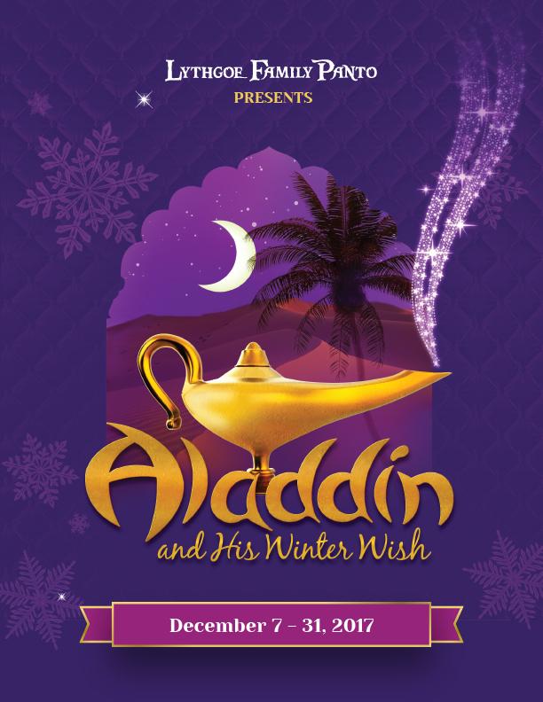 Laguna Playhouse Aladdin and His Winter Wish December 2017