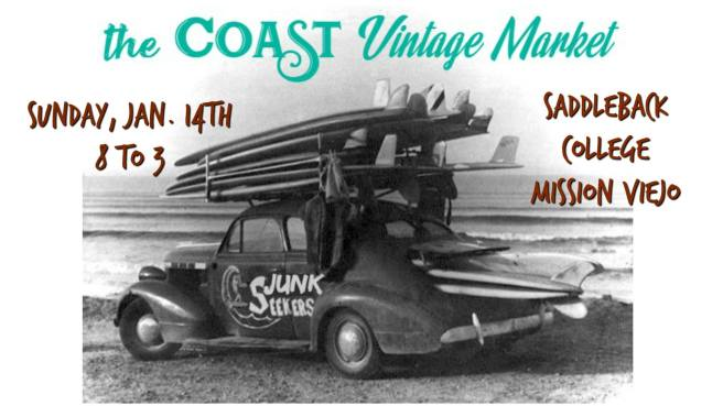 Coast Vintage Market Mission Viejo January 14 2018